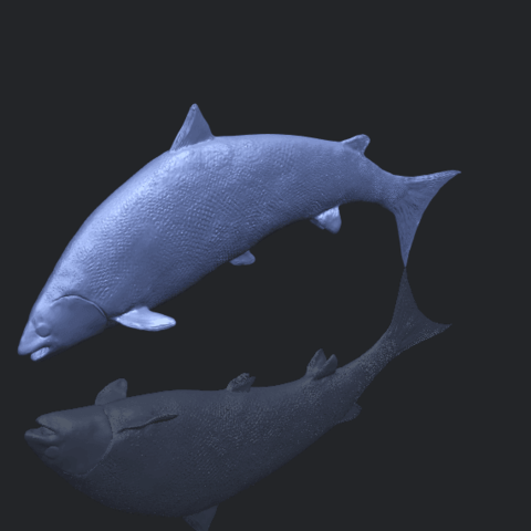 22_TDA0598_Fish_04B00-1.png Download free STL file  Fish 04 • 3D printable object, GeorgesNikkei