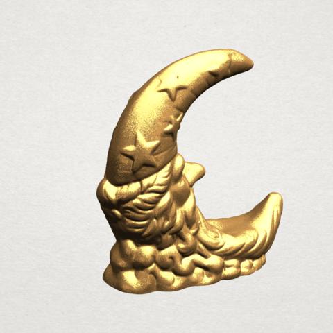 Moon - B05.png Télécharger fichier STL gratuit Lune • Design pour impression 3D, GeorgesNikkei