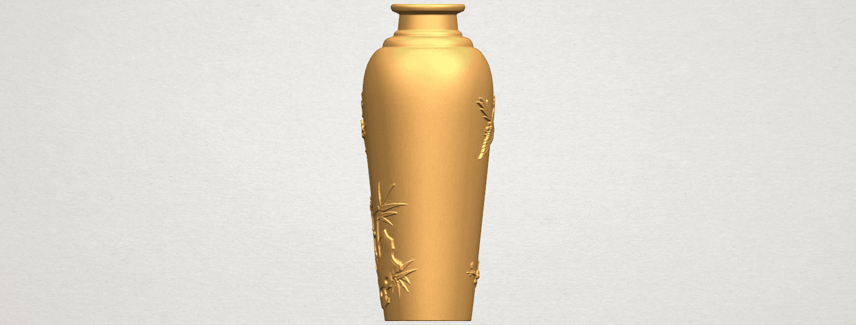 TDA0498 Vase 01 A05.png Télécharger fichier STL gratuit Vase 01 • Modèle pour impression 3D, GeorgesNikkei