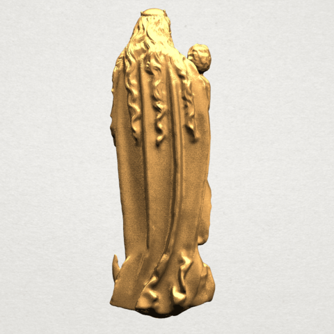 Mother and Child (vi) - A05.png Download free STL file Mother and Child 06 • 3D printing template, GeorgesNikkei