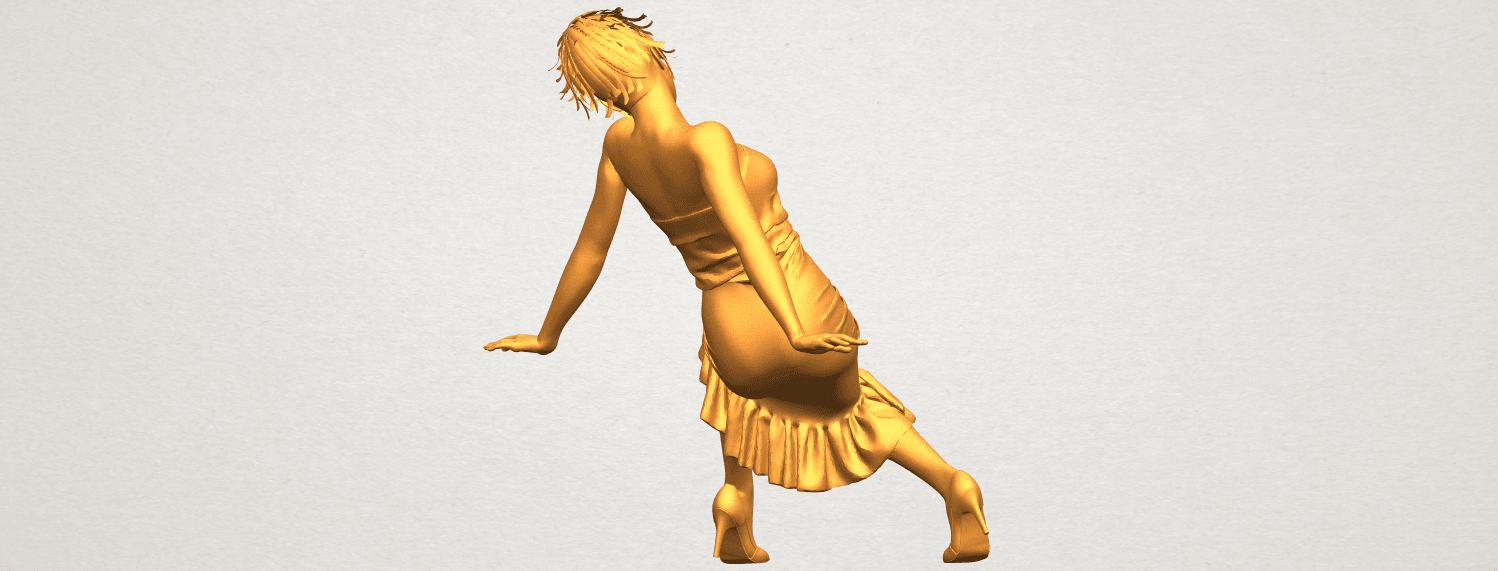A07.png Download free STL file Naked Girl G05 • 3D printing object, GeorgesNikkei