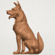 TDA0307 Dog - Wolfhound A04.png Download free STL file Dog - Wolfhound • 3D printer model, GeorgesNikkei