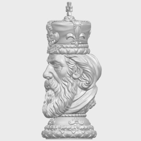 06_TDA0254_Chess-The_KingA03.png Download free STL file Chess-The King • 3D printer model, GeorgesNikkei