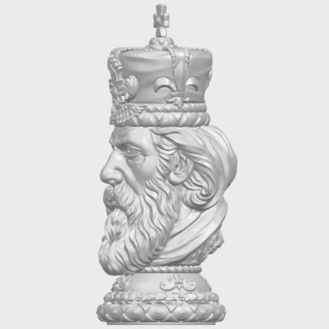 06_TDA0254_Chess-The_KingA03.png Télécharger fichier STL gratuit Chess-Le roi des échecs • Objet pour impression 3D, GeorgesNikkei