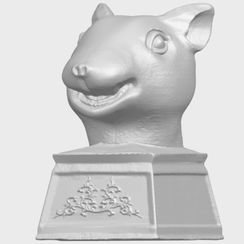17_TDA0508_Chinese_Horoscope_of_Rat_02A02.png Download free STL file Chinese Horoscope of Rat 02 • 3D printable model, GeorgesNikkei