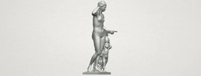 TDA0268 Venus and Angel A06.png Télécharger fichier STL gratuit Vénus et Ange • Objet pour impression 3D, GeorgesNikkei