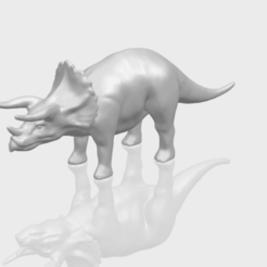 Free stl Triceratops 01, GeorgesNikkei