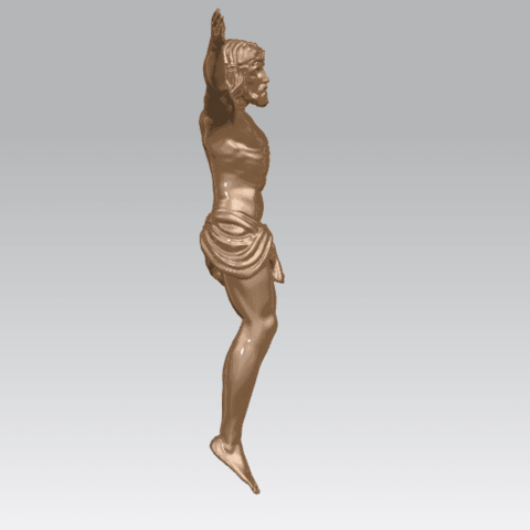 TDA0230 Jesus (i) A05.png Download free STL file Jesus 01 - top • Object to 3D print, GeorgesNikkei