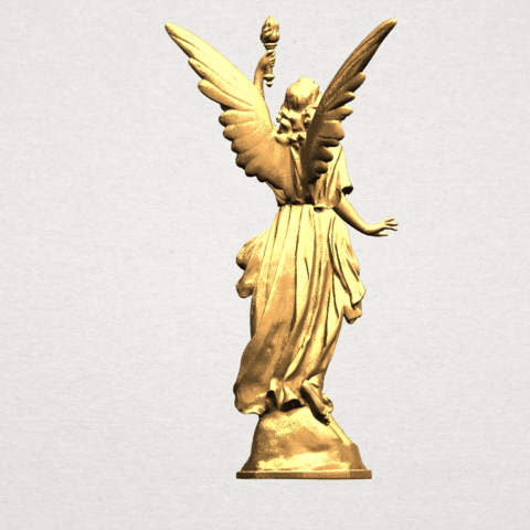 Statue 01 - A05.png Download free STL file Statue 01 • Object to 3D print, GeorgesNikkei
