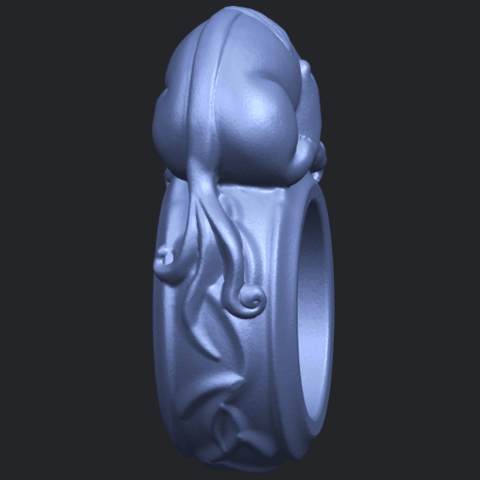 07_TDA0504_Pi_Xiu_RingB04.png Télécharger fichier STL gratuit Bague Pi Xiu Ring • Modèle à imprimer en 3D, GeorgesNikkei