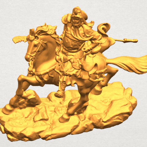 TDA0331 Guan Gong (iv) A08.png Download free STL file Guan Gong 04 • Template to 3D print, GeorgesNikkei