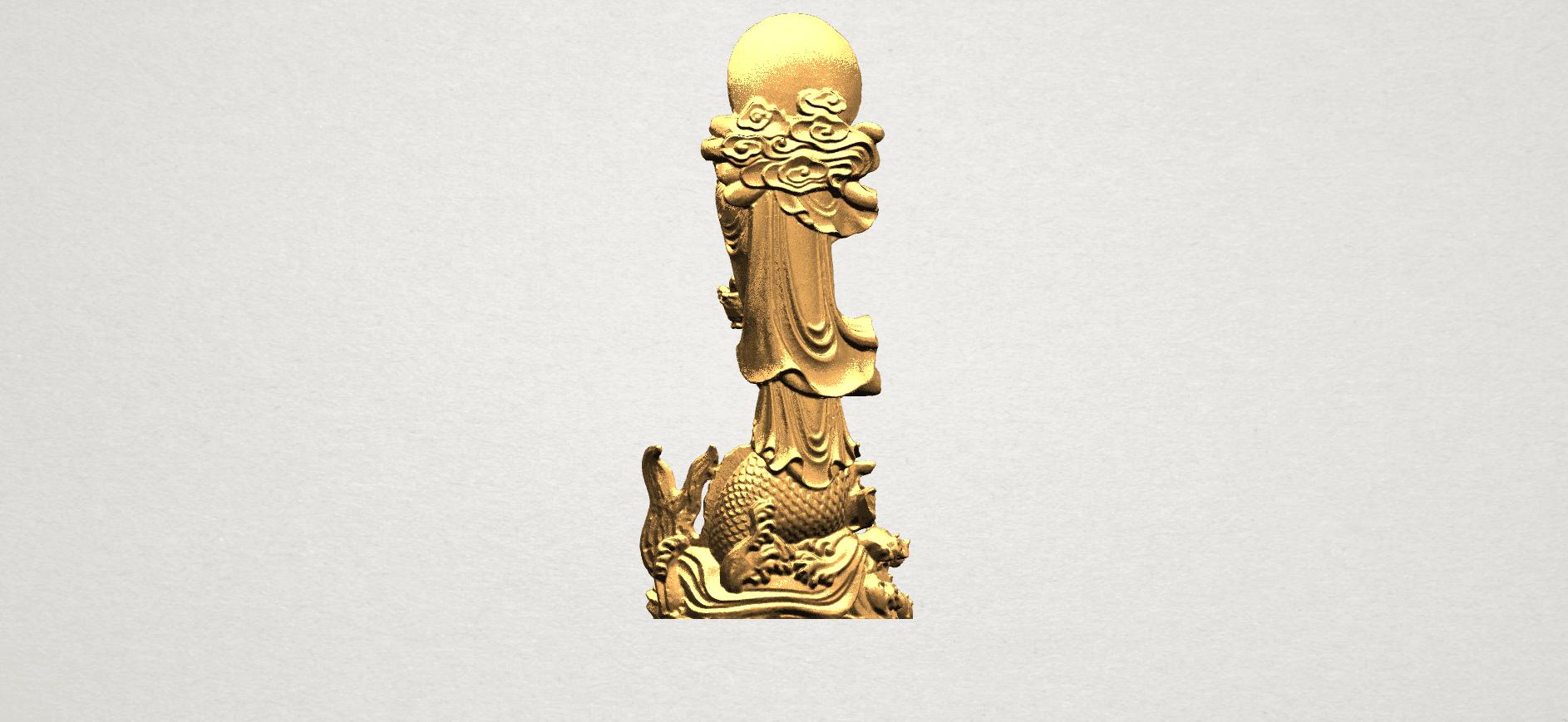 Avalokitesvara Buddha  (with fish) (ii) A05.png Download free STL file Avalokitesvara Bodhisattva (with fish) 02 • 3D printer template, GeorgesNikkei