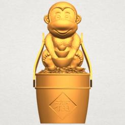 diseños 3d gratis Mono A05, GeorgesNikkei