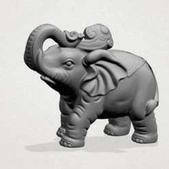 Free stl files Elephant 02, GeorgesNikkei