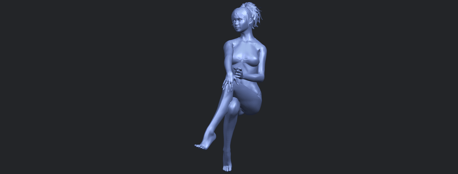 20_TDA0664_Naked_Girl_H02B05.png Download free STL file Naked Girl H02 • 3D print object, GeorgesNikkei