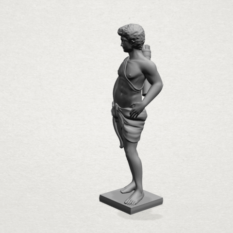 Michelangelo (ii) - C02.png Download free STL file Michelangelo 02 • Template to 3D print, GeorgesNikkei