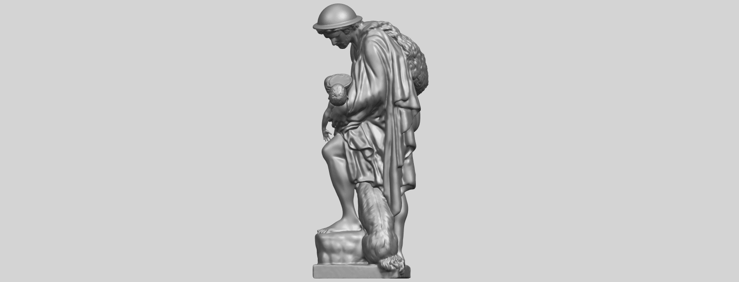 20_TDA0221_Father_and_Son_(iii)_88mmA04.png Download free STL file Father and Son 3 • 3D print model, GeorgesNikkei