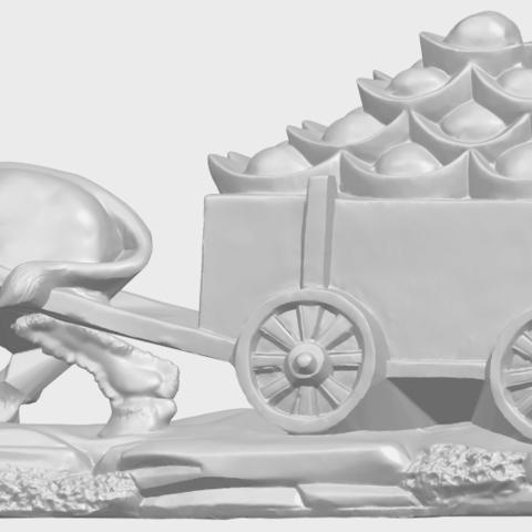 17_TDA0315_Golden_CarA01.png Download free STL file Golden Car • 3D printer template, GeorgesNikkei