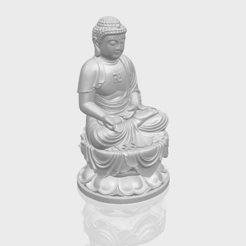 01_TDA0174_Gautama_Buddha_(ii)__88mmA00-1.png Download free STL file Gautama Buddha 02 • 3D print template, GeorgesNikkei