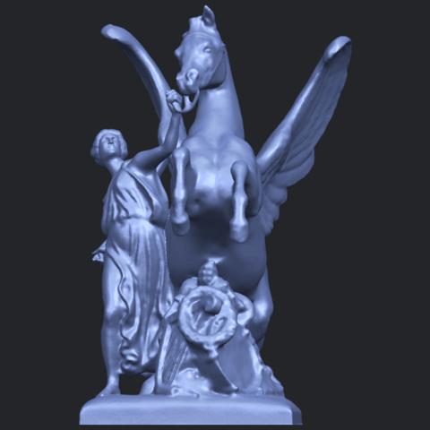 10_Horse_(v)_88.3mmB09.png Télécharger fichier STL gratuit Cheval 05 • Plan pour impression 3D, GeorgesNikkei