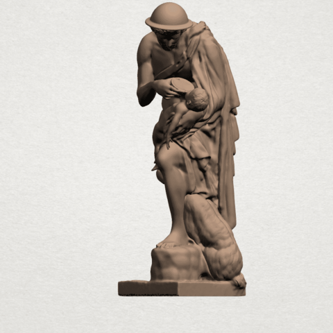 Father and Son (iii) A02.png Download free STL file Father and Son 3 • 3D print model, GeorgesNikkei