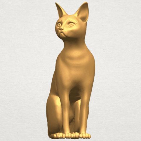 TDA0576 Cat 01 A01 ex1500.png Télécharger fichier STL gratuit Chat 01 • Modèle pour imprimante 3D, GeorgesNikkei