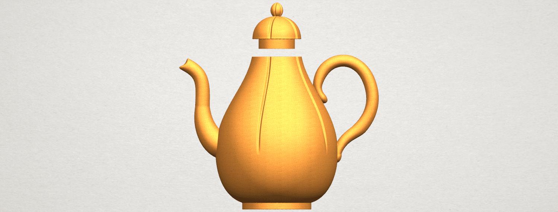 TDA0323 Tea Pot (ii) A01.png Download free STL file Tea Pot 02 • 3D printer template, GeorgesNikkei