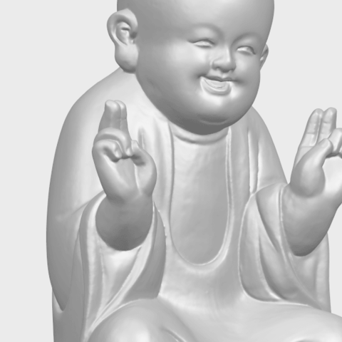 TDA0732_Little_Monk_05A10.png Download free STL file Little Monk 05 • 3D printing template, GeorgesNikkei