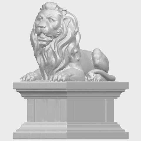 01_TDA0499_Lion_04A02.png Download free STL file Lion 04 • Template to 3D print, GeorgesNikkei