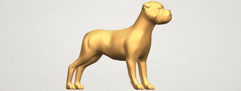 TDA0524 Bull Dog 05 A07.png Download free STL file Bull Dog 05 • 3D printer design, GeorgesNikkei