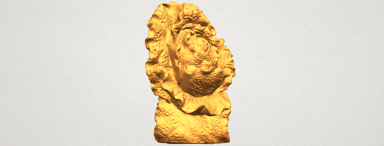 A09.png Download free STL file Vegetable - Fatt Choi 04 • 3D print template, GeorgesNikkei