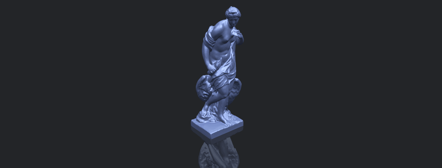 25_TDA0173_Naked_Girl_with_Goose_88mmB00-1.png Download free STL file Naked Girl with Goose • 3D print template, GeorgesNikkei