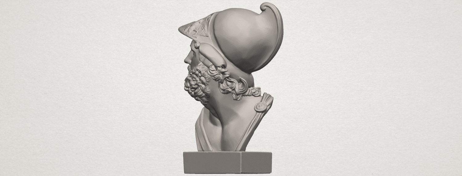 TDA0244 Sculpture of a head of man A04.png Download free STL file Sculpture of a head of man • 3D printable design, GeorgesNikkei