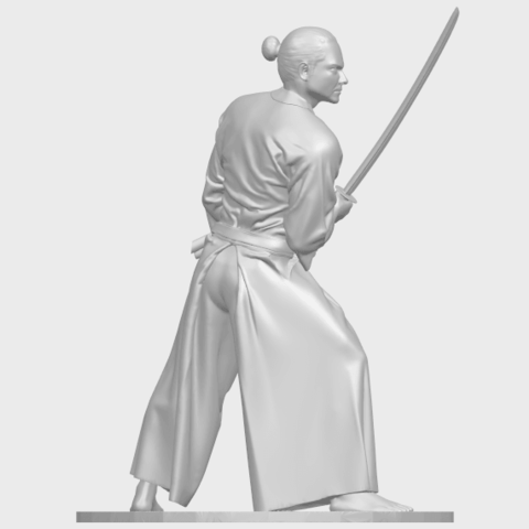 05_TDA0544_Japanese_WarriorA08.png Download free STL file Japanese Warrior • 3D printer model, GeorgesNikkei