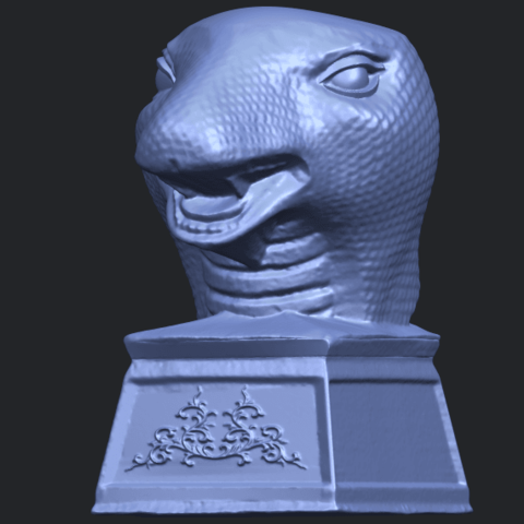 19_TDA0513_Chinese_Horoscope_of_Snake.02B02.png Download free STL file Chinese Horoscope of Snake 02 • 3D printer design, GeorgesNikkei