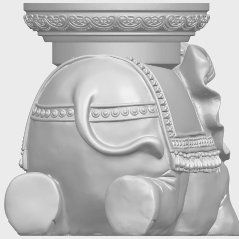 11_TDA0501_Elephant_TableA06.png Download free STL file Elephant Table • 3D printing object, GeorgesNikkei
