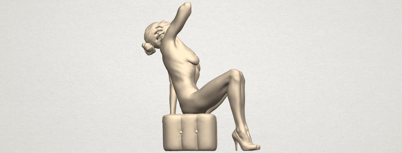 TDA0289 Naked Girl B06 01.png Download free STL file  Naked Girl B06 • 3D print design, GeorgesNikkei