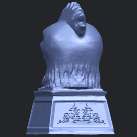 18_TDA0517_Chinese_Horoscope_of_Rooster_02B06.png Download free STL file Chinese Horoscope of Rooster 02 • 3D printable object, GeorgesNikkei