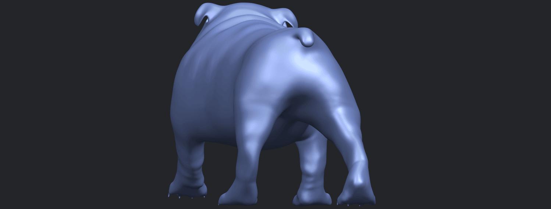 14_TDA0520_Bull_Dog_01B06.png Télécharger fichier STL gratuit Chien de taureau 01 • Plan pour impression 3D, GeorgesNikkei