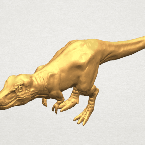TDA0611 Tyrannosaurus A09.png Download free STL file Tyrannosaurus • 3D printing model, GeorgesNikkei