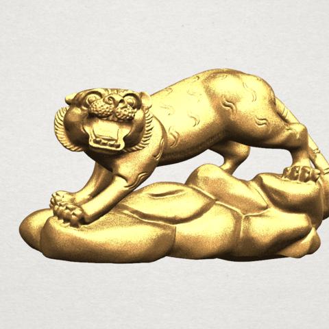 mod le 3d horoscope chinois 03 tigre tigre cults. Black Bedroom Furniture Sets. Home Design Ideas