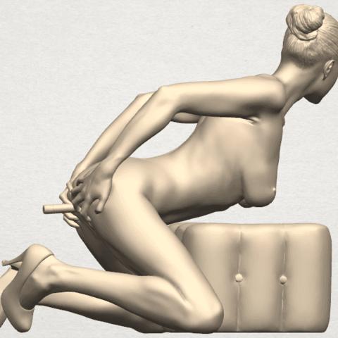 TDA0286 Naked Girl B03 05.png Download free STL file  Naked Girl B03 • 3D printing model, GeorgesNikkei