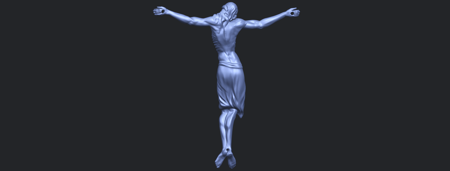 17_TDA0233_Jesus_iv_88mmB06.png Download free STL file Jesus 04 • Template to 3D print, GeorgesNikkei