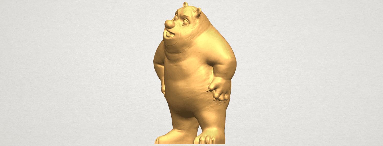 TDA0561 Bear Senior A02.png Télécharger fichier STL gratuit Bear Senior • Plan imprimable en 3D, GeorgesNikkei