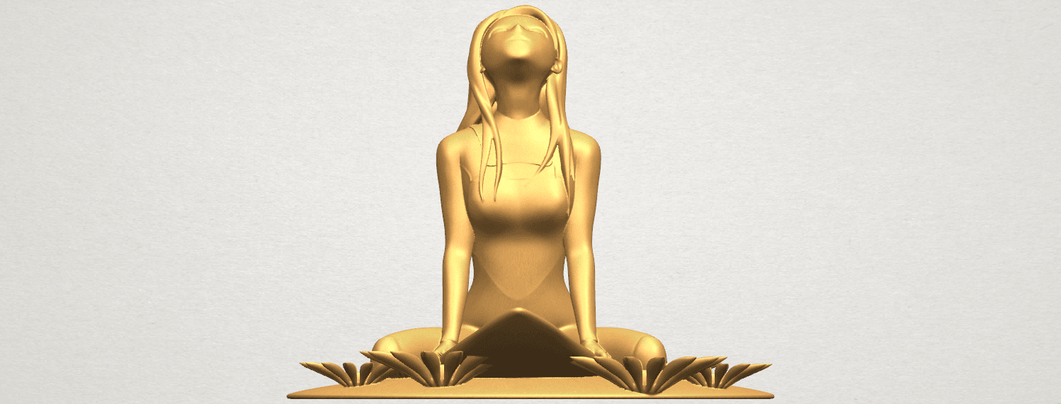 TDA0589 Girl surfing board 01 A01.png Download free STL file Girl surfing board 01 • 3D printing object, GeorgesNikkei