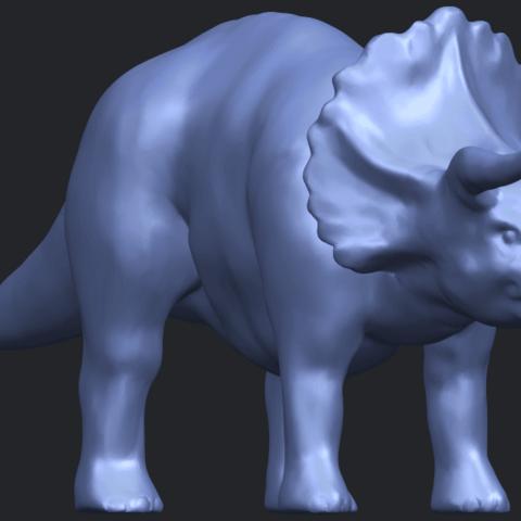 17_TDA0759_Triceratops_01B08.png Télécharger fichier STL gratuit Triceratops 01 • Modèle pour imprimante 3D, GeorgesNikkei