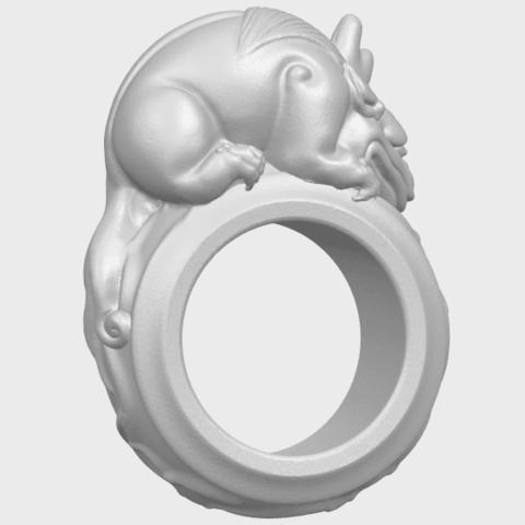 07_TDA0504_Pi_Xiu_RingA06.png Download free STL file Pi Xiu Ring • Object to 3D print, GeorgesNikkei