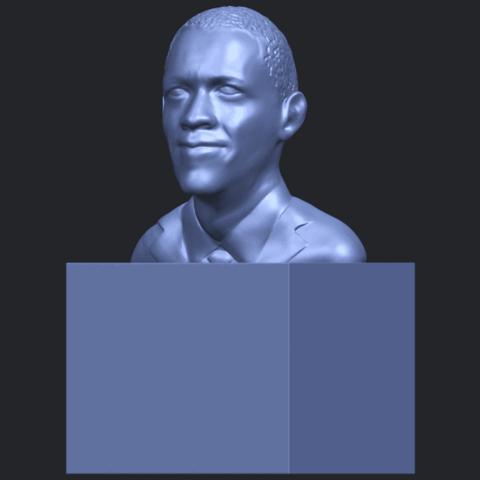 02_TDA0294_ObamaB02.png Download free STL file Obama • 3D print model, GeorgesNikkei