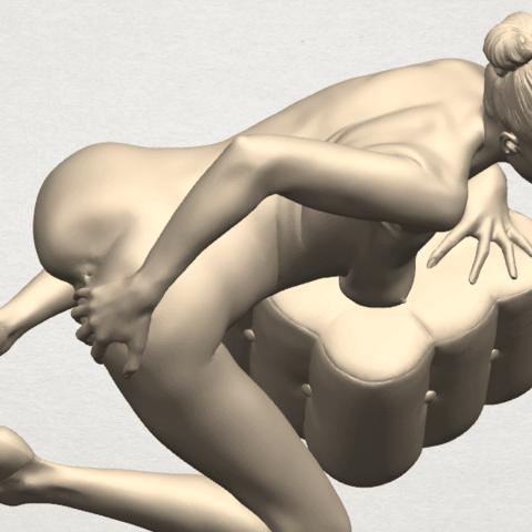 TDA0284 Naked Girl B01 10.png Télécharger fichier STL gratuit Fille nue B01 • Design à imprimer en 3D, GeorgesNikkei