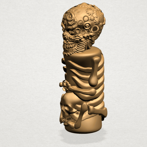 Skelecton - B03.png Download free STL file Skelecton • 3D printer object, GeorgesNikkei